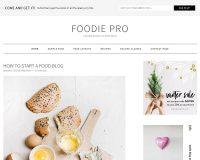 Foodie Pro Genesis Child Theme for WordPress by StudioPress