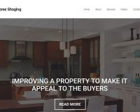 Home Staging HTML Website Template by TemplateMonster