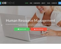 JobTheme WordPress Theme by TemplateMonster