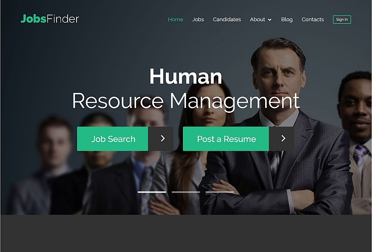 Job Portal WordPress Theme by TemplateMonster
