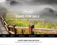 Land Brokers HTML Website Template by TemplateMonster