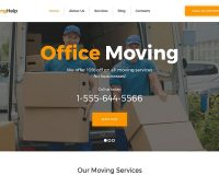 Moving Help WordPress Theme by TemplateMonster