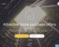 Real Estate HTML Website Template by TemplateMonster