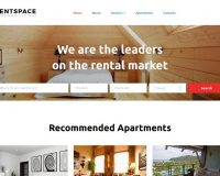 RentSpace HTML Website Template by TemplateMonster