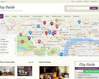 CityGuide WordPress Theme by Templatic