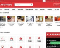 Classifieds Theme WordPress Theme by Templatic
