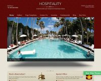 Hospitality WordPress Theme by Templatic