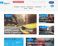 Daily Post WordPress Theme by TeslaThemes