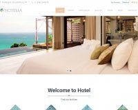 Hotelia WordPress Theme by TeslaThemes