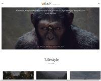 It's a Wrap WordPress Theme by TeslaThemes
