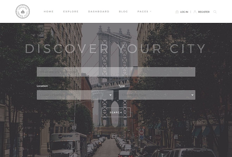 Locales WordPress Theme by TeslaThemes