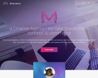 Materialism WordPress Theme by TeslaThemes