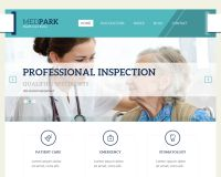 MedPark WordPress Theme by Tesla Themes