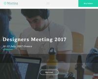 Meeting WordPress Theme by TeslaThemes