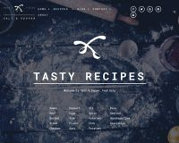 Salt and Pepper WordPress Theme by TeslaThemes