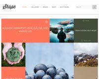 Shape WordPress Theme by TeslaThemes