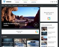 VideoZ WordPress Theme by Theme Junkie