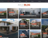 ArchBlog WordPress Theme via ThemeForest