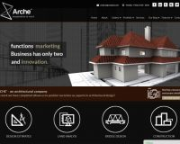 Arche WordPress Theme via ThemeForest