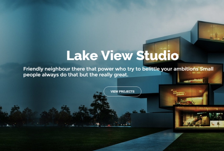 Architecture Portfolio WordPress Theme via ThemeForest