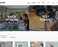 Backer WordPress Theme via ThemeForest
