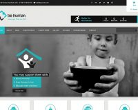Be Human WordPress Theme via ThemeForest