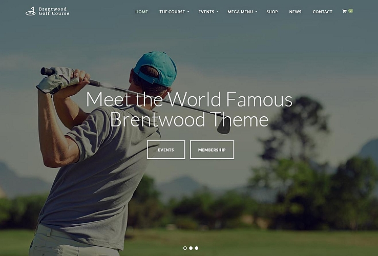 Brentwood WordPress Theme via ThemeForest
