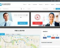 Careers WordPress Theme via ThemeForest