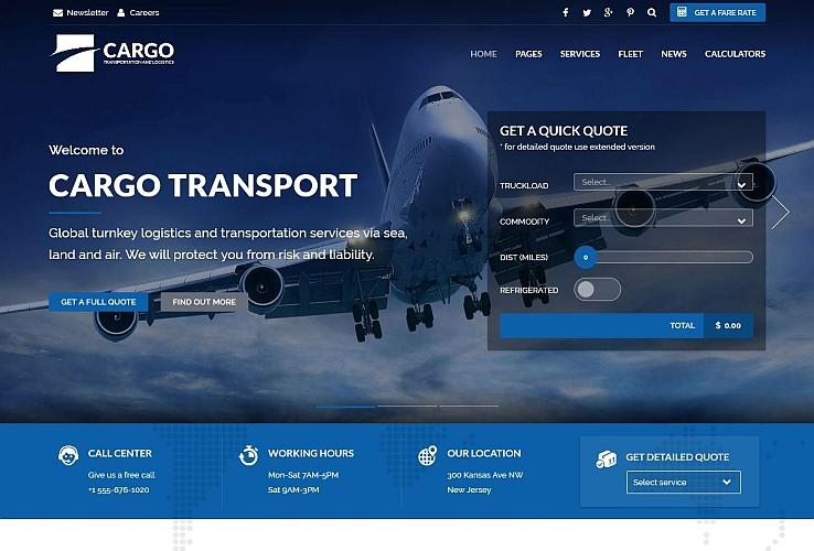 Cargo WordPress Theme via ThemeForest
