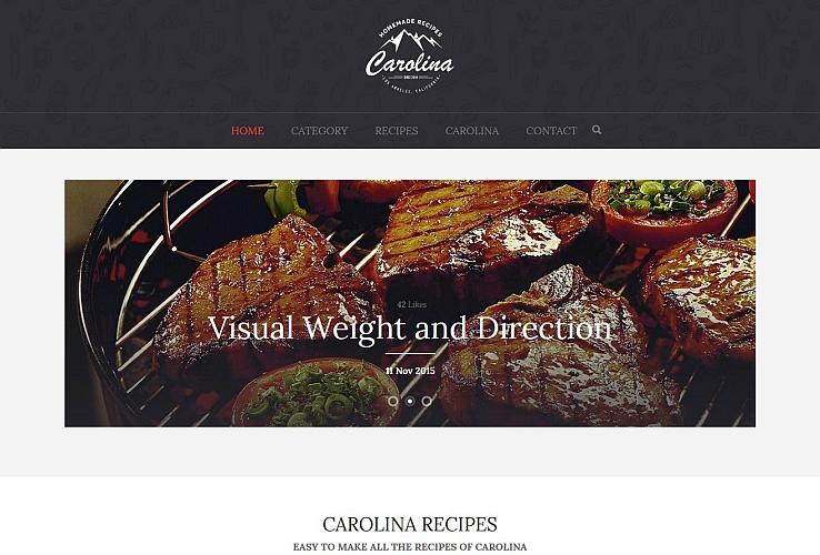 Carolina WordPress Theme via ThemeForest