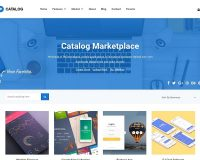 Catalog WordPress Theme via ThemeForest