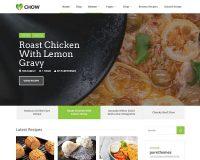 Chow WordPress Theme via ThemeForest