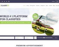 Classify WordPress Theme via ThemeForest