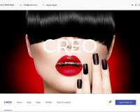 Creo WordPress Theme via ThemeForest