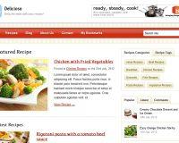 Delicioso WordPress Theme via ThemeForest