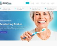 Dentalia WordPress Theme via ThemeForest