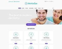 Dentalux WordPress Theme via ThemeForest