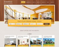 Estetico HTML Website Template via ThemeForest
