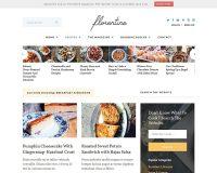 Meridian Recipes WordPress Theme via ThemeForest