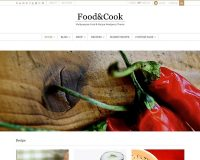 Food & Cook WordPress Theme via ThemeForest