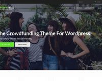 FundingPress WordPress Theme via ThemeForest