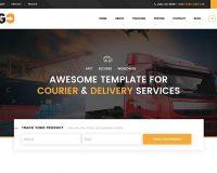 GoCourier WordPress Theme via ThemeForest
