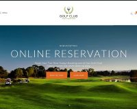 Golf Club WordPress Theme via ThemeForest