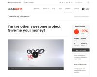 GoodWork WordPress Theme via ThemeForest