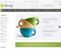 Handy WordPress Theme via ThemeForest