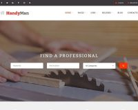 Handyman WordPress Theme via ThemeForest
