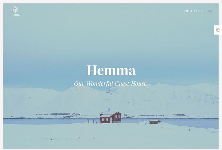 Hemma WordPress Theme via ThemeForest