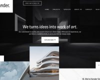 Hender WordPress Theme via ThemeForest