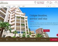 Hotel California WordPress Theme via ThemeForest