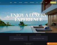 Hotel Xenia WordPress Theme via ThemeForest
